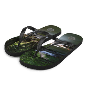 Small Falls Theraphina Logo Flip-Flops