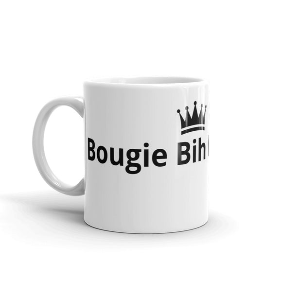 Bougie Bih In Training Crown Design Mug Gift For Him or Her