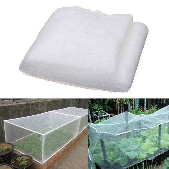 Greenhouse Protective Net Covering Protect Your Home Garden Vegetables. Care Insect Net Plant Covers Net Garden Pest Control Anti-bird Mesh Net