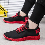 Fashion Men Sneakers Mesh Casual Shoes Lace up Mens Shoes Lightweight Shoes Walking Sneakers