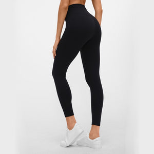 Durable Women's Squat Proof Cute Sexy Naked feel for Workout Gym Yoga Pants High Waist Fitness Tights Sport Leggings Sports Wear for Women Gym