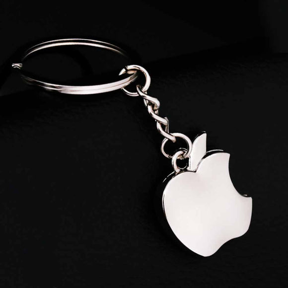 Trendy Metal Apple Key Chain Creative Gifts Apple Keychain Key Ring Trinket Gift Novelty Souvenir