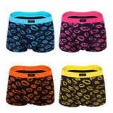 Lot of 4 Pieces Fun Design Male Modal Soft Boxer 2020 Male Underwear Men's Boxers Shorts Plus Size Men Pants Gift L-3XL