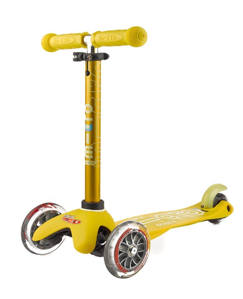 Mini Micro Deluxe Scooter - Yellow