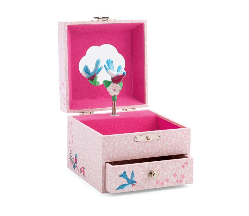 Music Box Bird Pink