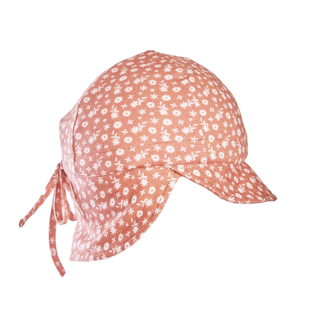Sweet Pea Organic Flap Hat
