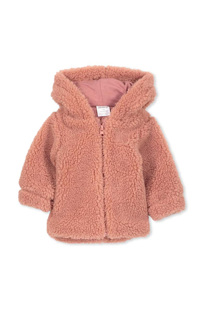 BABY SHERPA JACKET ROSE