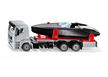 Siku - 2715 Man Truck with Motorboat