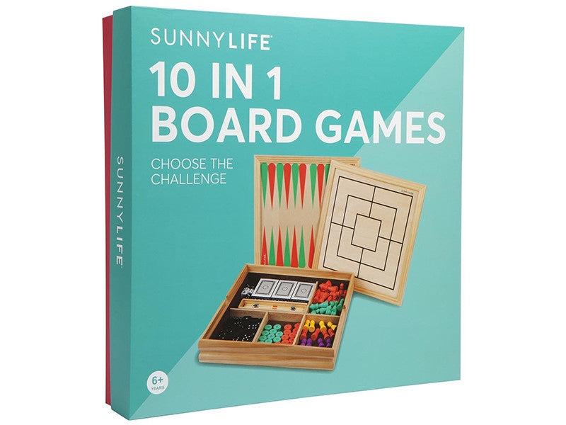 10 IN 1 BOARD GAMES CATALINA