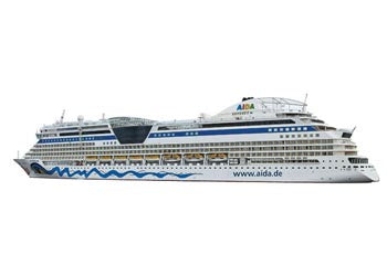 Siku - AIDA Cruise Ship - 1:1400 Scale