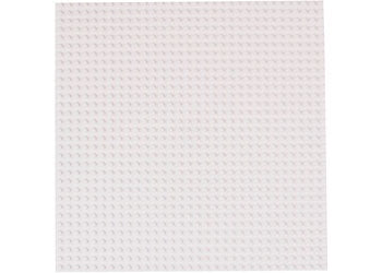 Strictly Briks-10x10 Single Baseplate-White