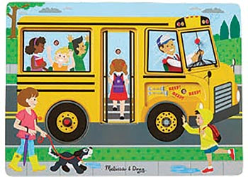 The Wheels on the Bus Song Puzzle – 6pc