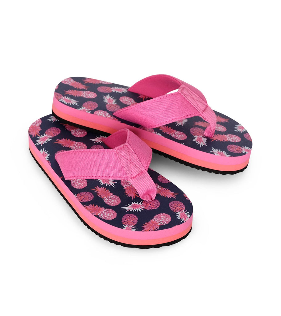 Party Pineapples Flip Flops