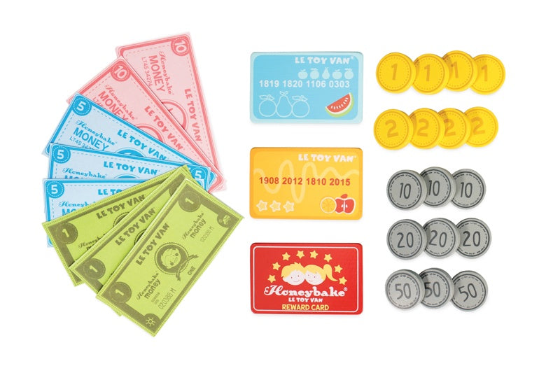 Honeybake Play Money Set