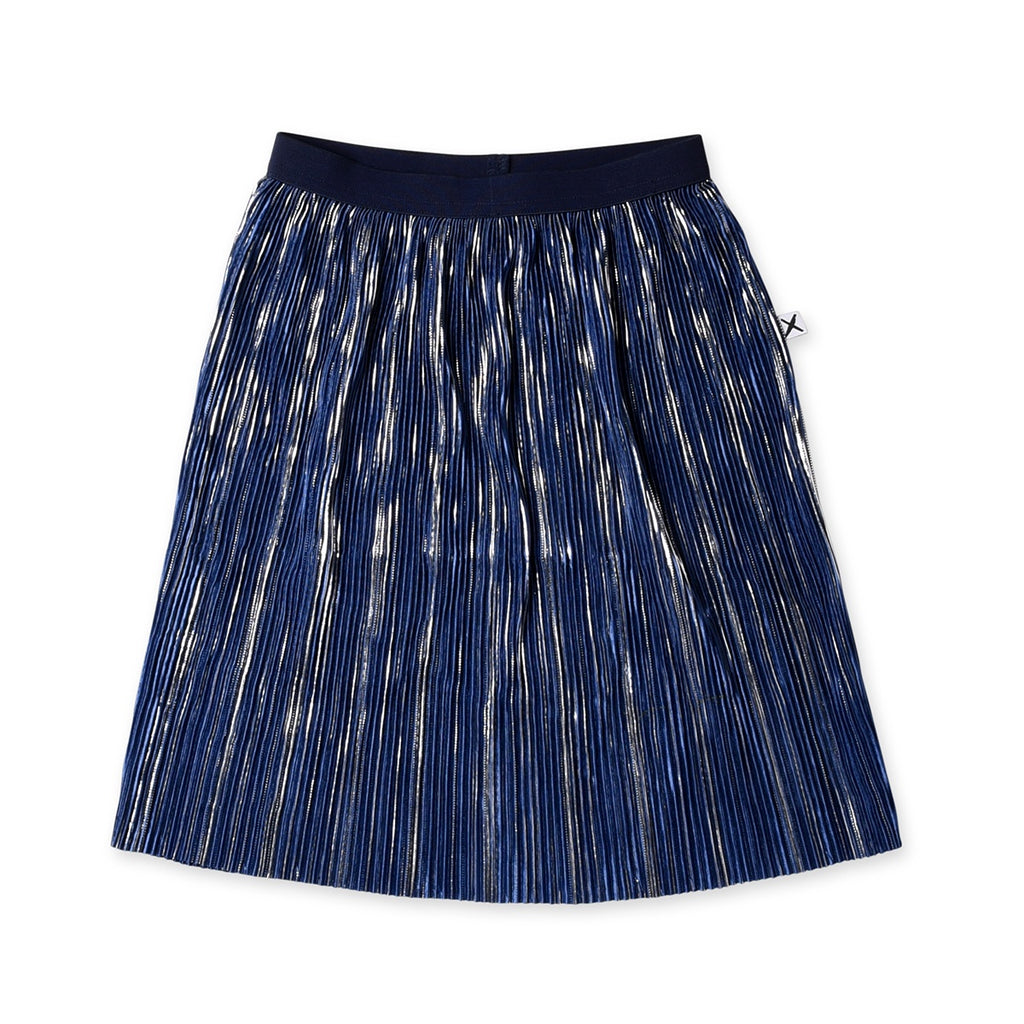 Shimmer Skirt Royal Blue/Silver