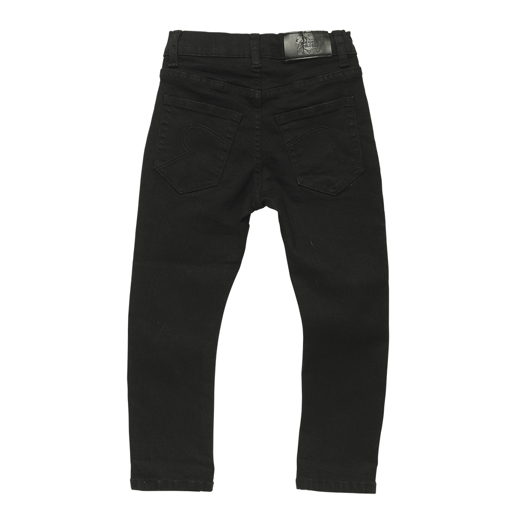 BLACK WASH DENIM - JEANS BLACK WASH