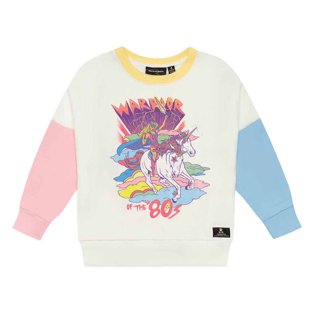 WARRIOR GIRL SWEATSHIRT - MULTI