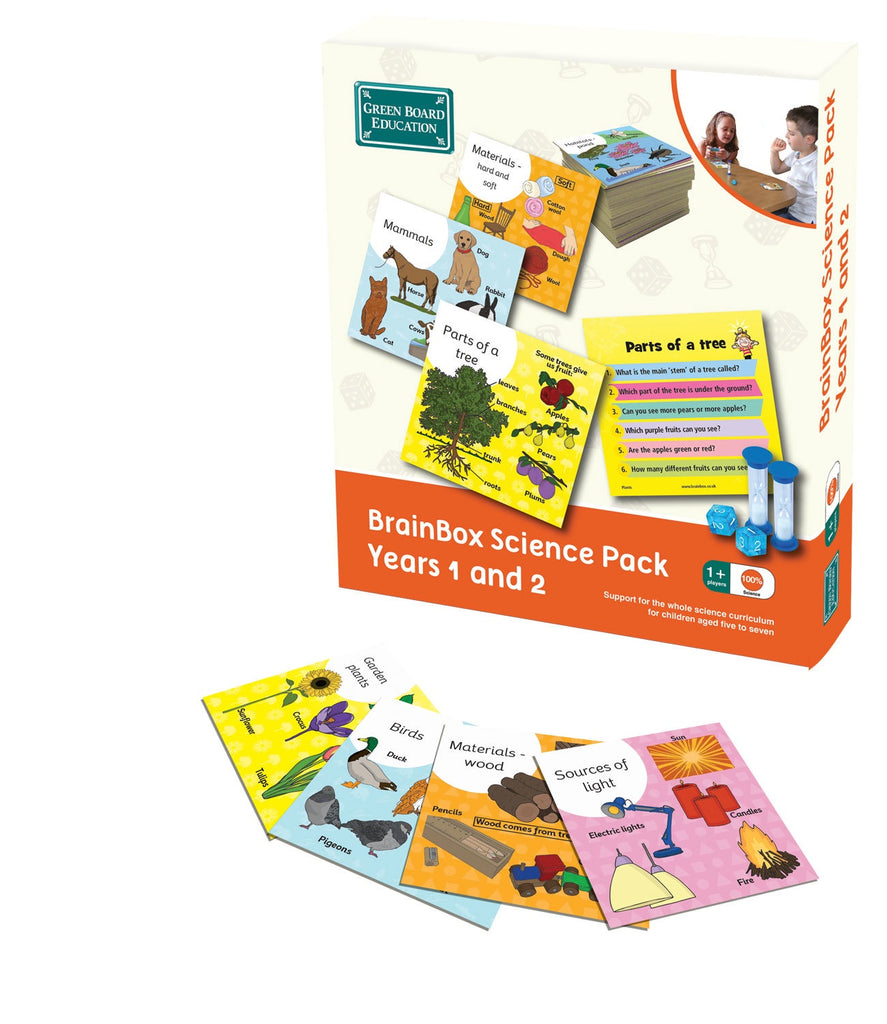 Brain Box Science Pack Years 1 & 2