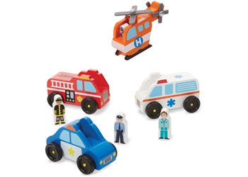 M&D - Emergency Vehicle Set