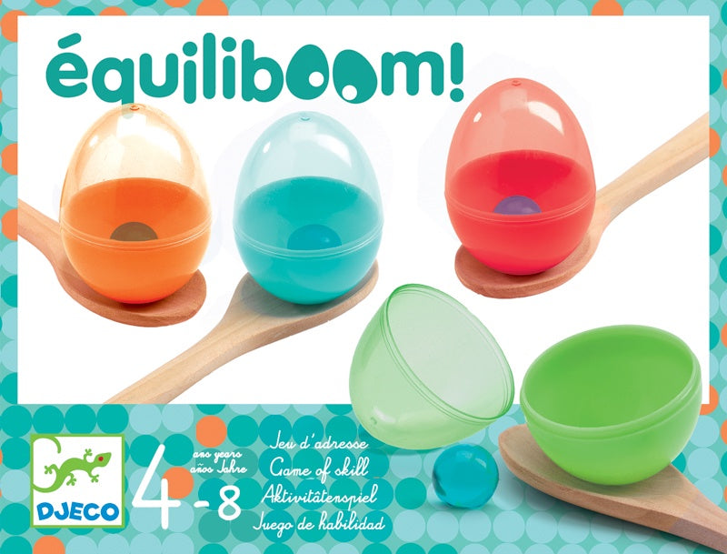 Equiliboom Egg and Spoon Game