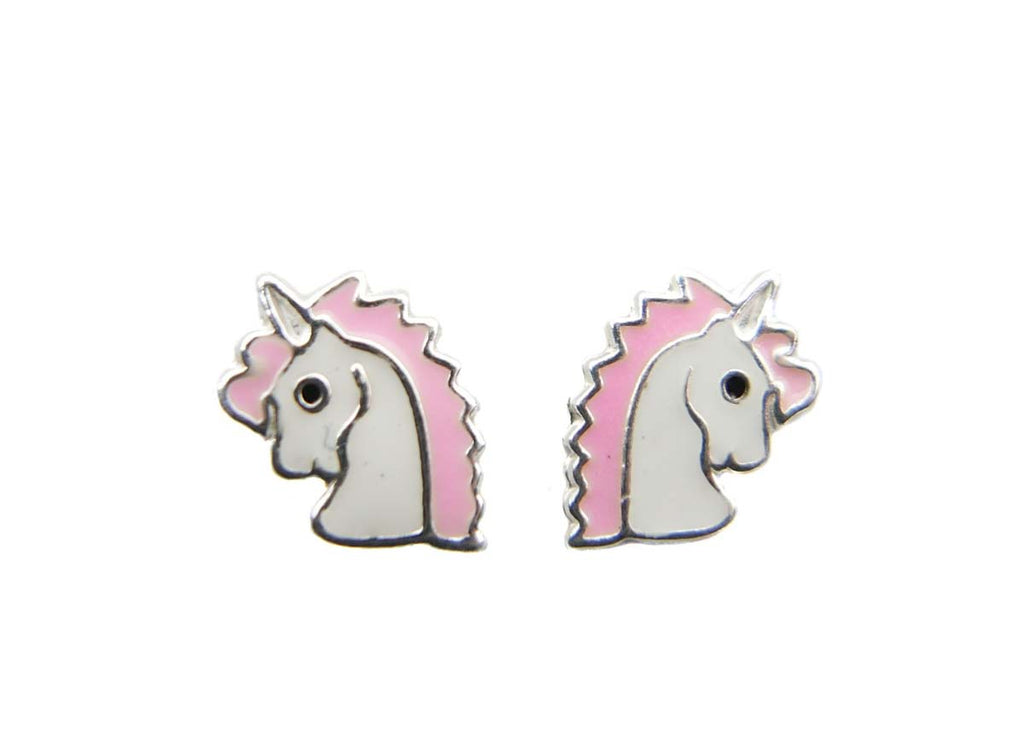 UNICORN HEAD 925 STUDS