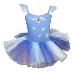Frozen 2 Elsa's Snowflake Tutu Dress