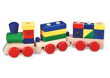 M&D - Wooden Stacking Train