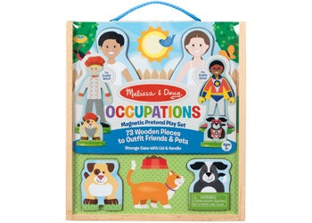 M&D - Occupations Magnetic Dress-Up Play Set