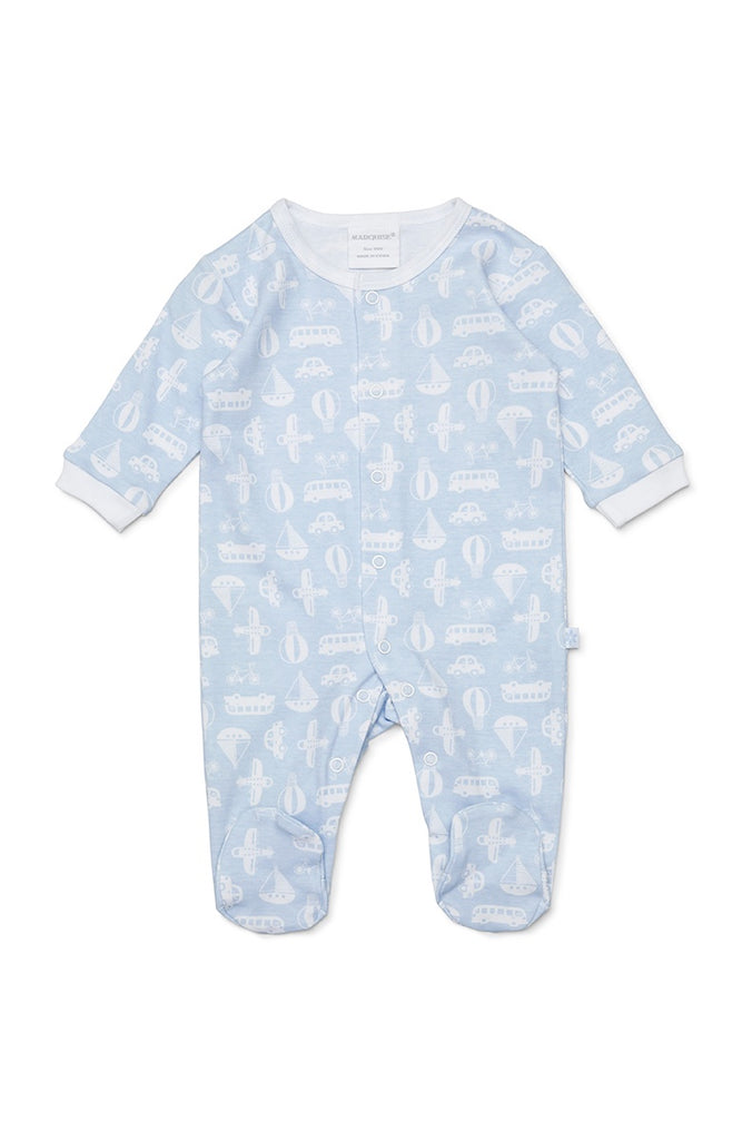 TRANSPORT STUDSUIT - BLUE