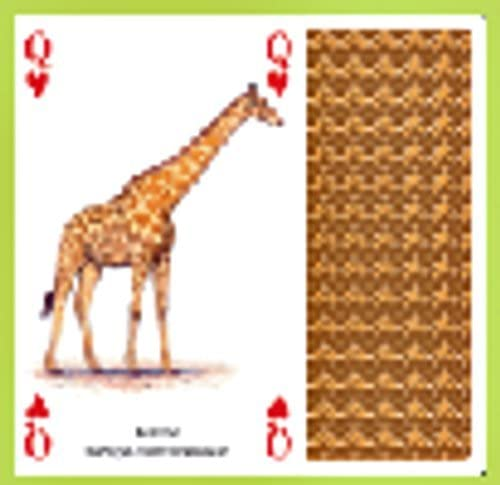 Playing Cards African Animals