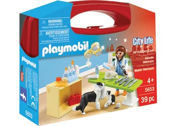 Playmobil - Vet Visit Carry Case