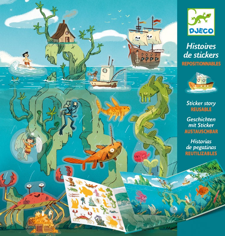 Adventures At Sea Stickers Set