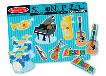 Musical Instruments Sound Puzzle – 8pc