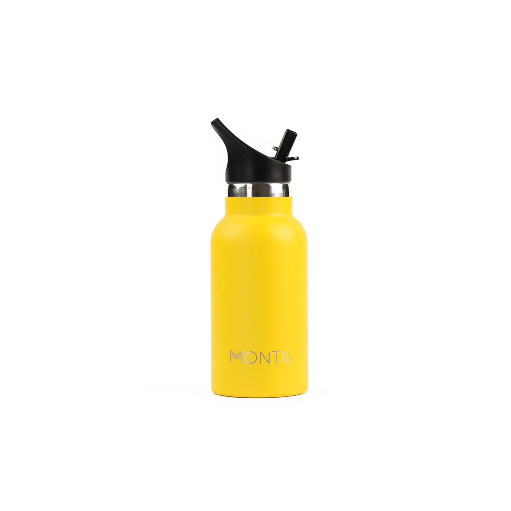 MontiiCo Mini Drink Bottle - Yellow