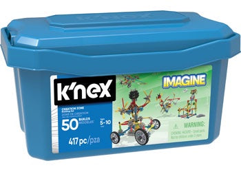 K'Nex - Creation Zone 50 Model Building Set