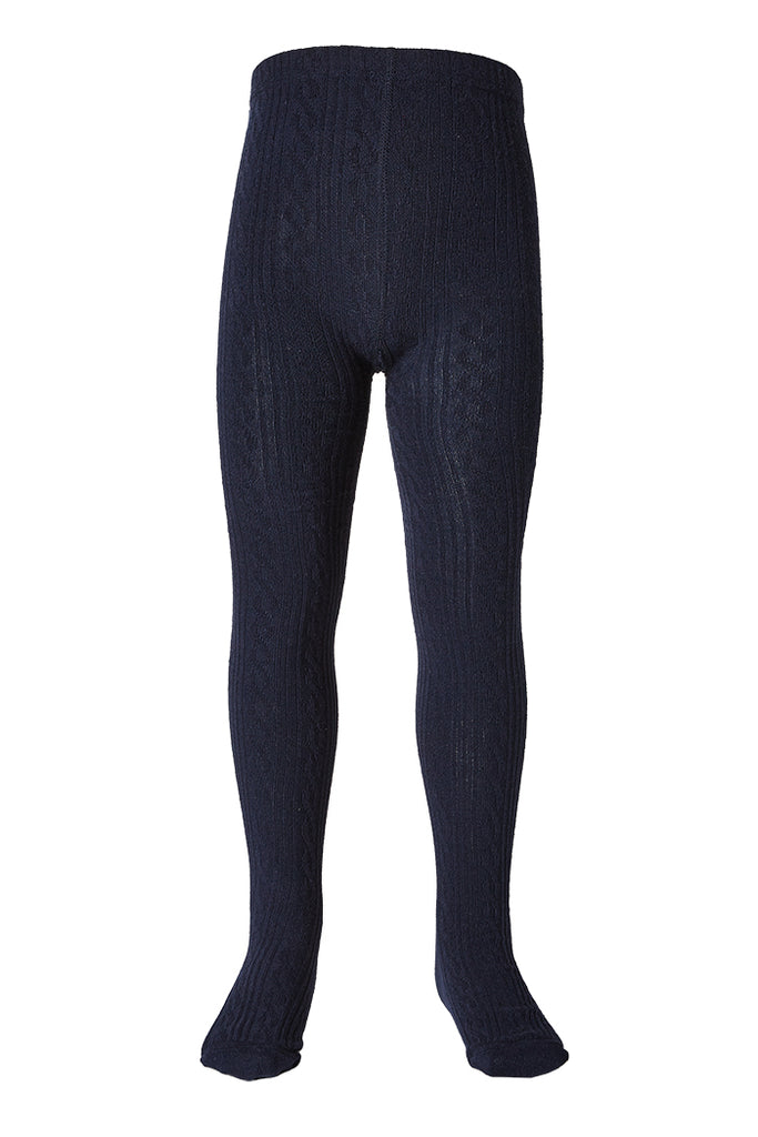JAQUARD TIGHTS NAVY