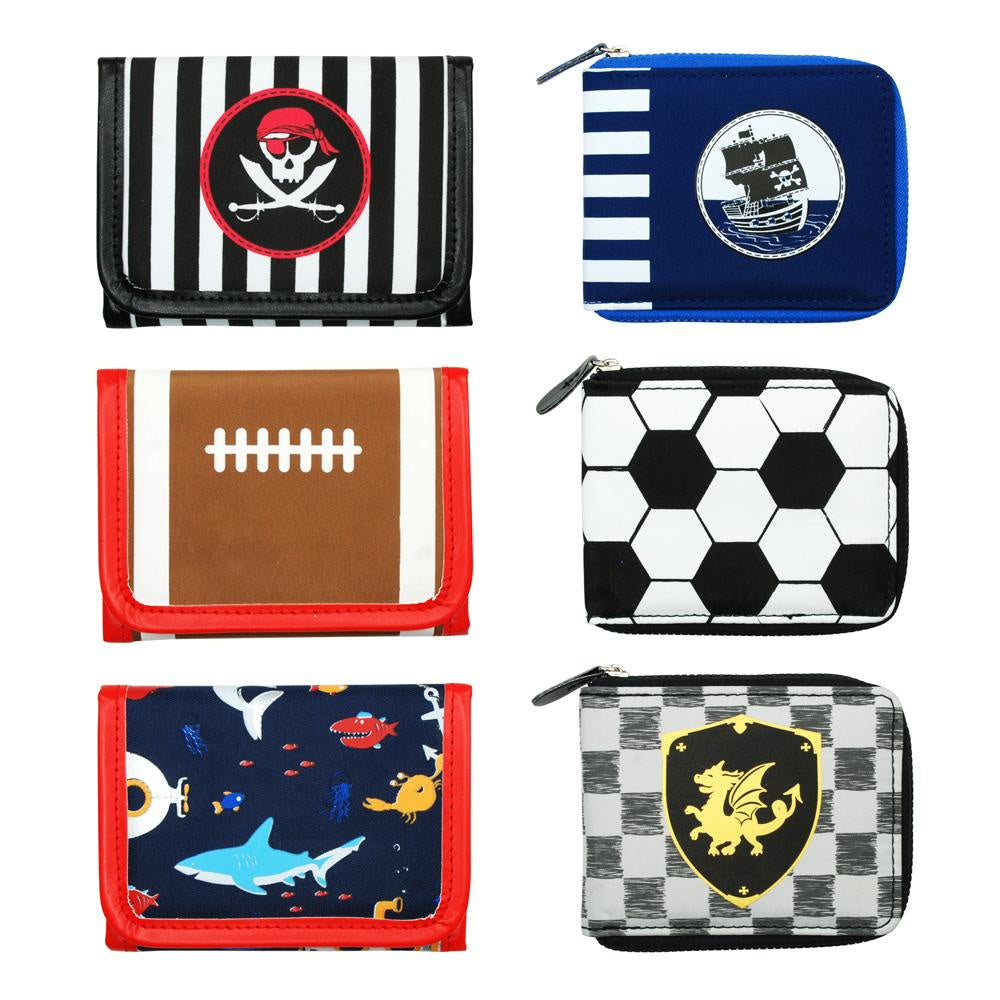 Boys assorted wallet