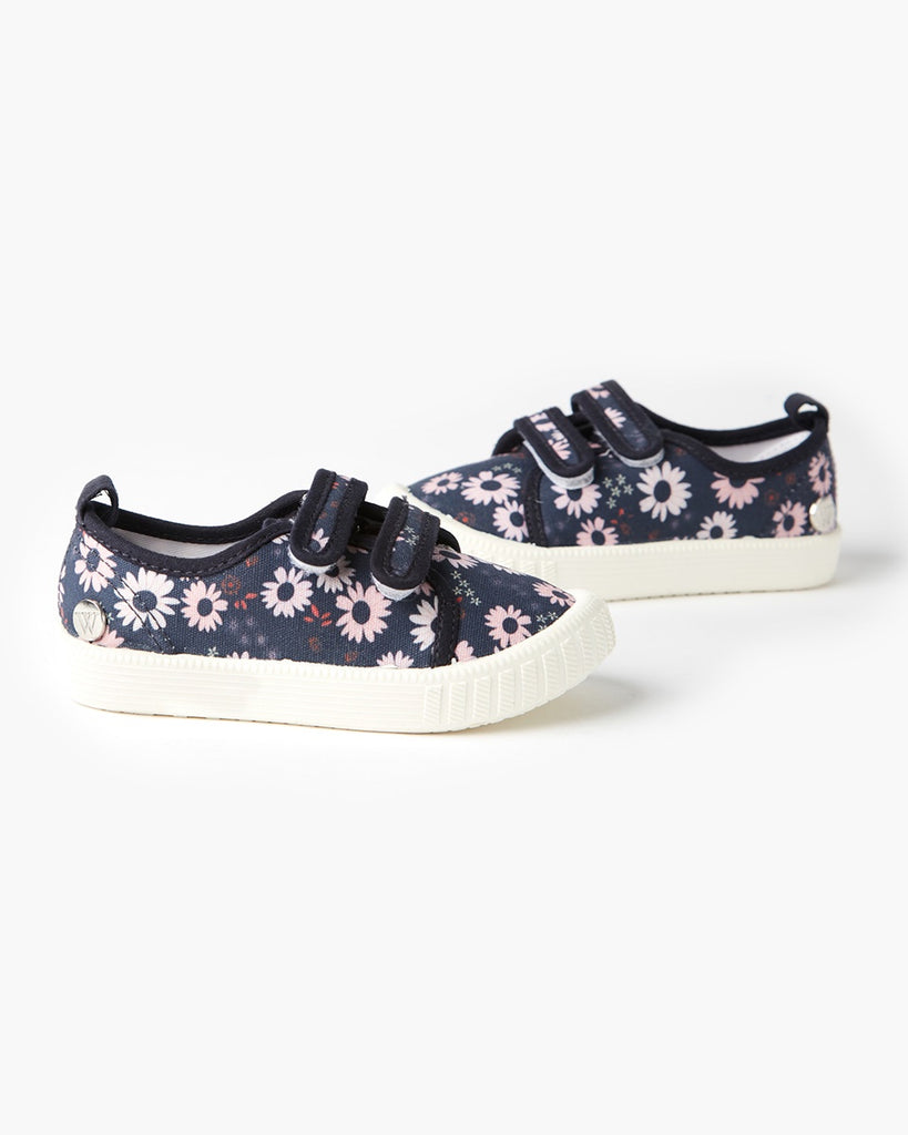 Play Ben Canvas Daisy Navy