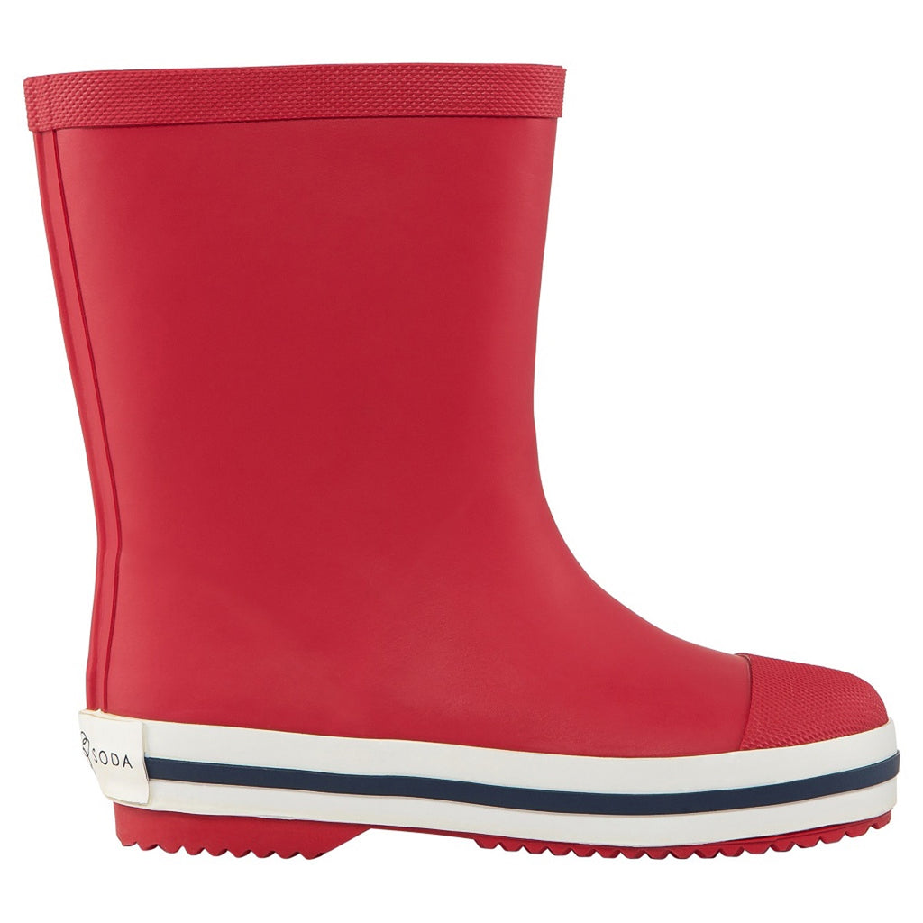 Long Gumboot - Red