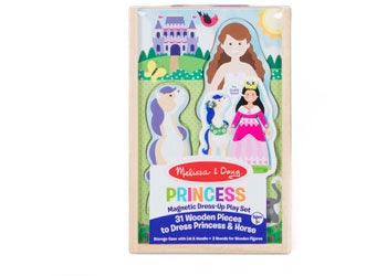 M&D - Princess Magnetic Dress-Up Play Set