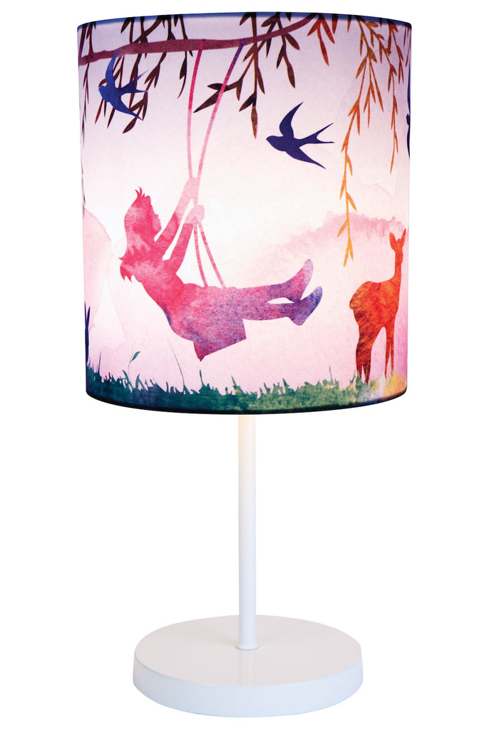 Little Girl Print Lamp