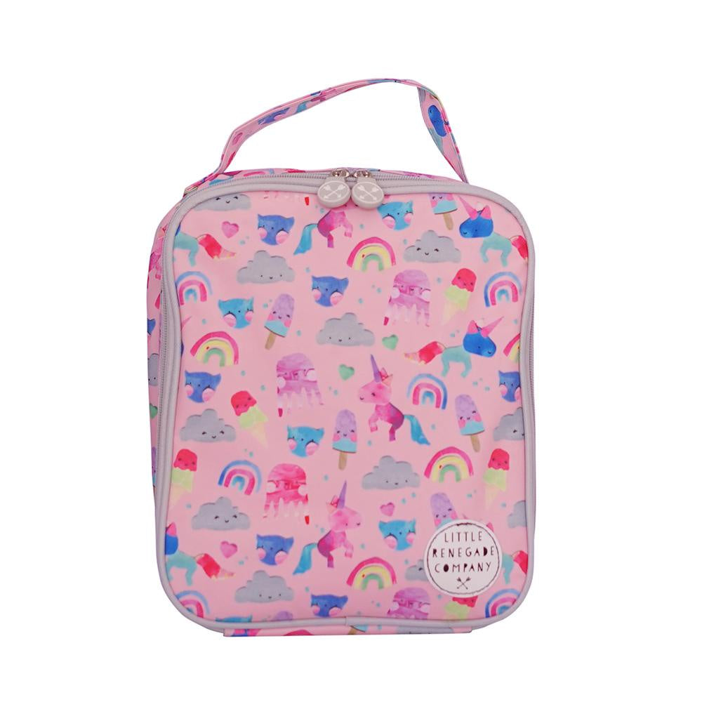 UNICORN FRIENDS INSULATED LUNCH BAG