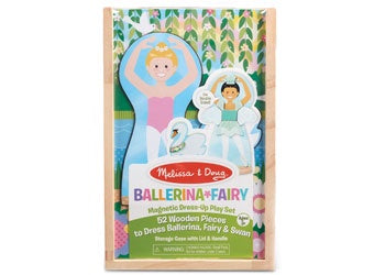 M&D - Ballerina Fairy Magnetic Dress Up Play Set