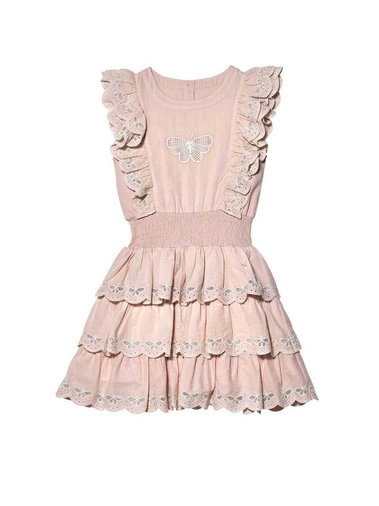BUTTERFLY KISSES DRESS PINK CHABLIS
