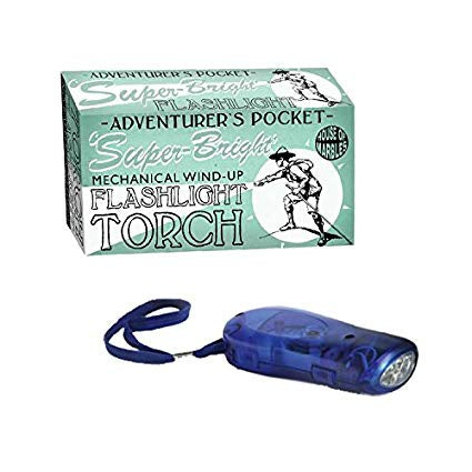 Adventurer's Wind-Up Torch