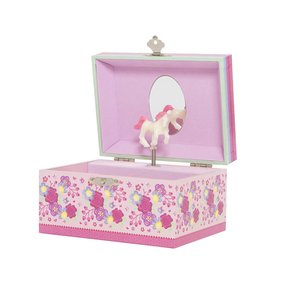 Musical Jewellery Box Unicorn