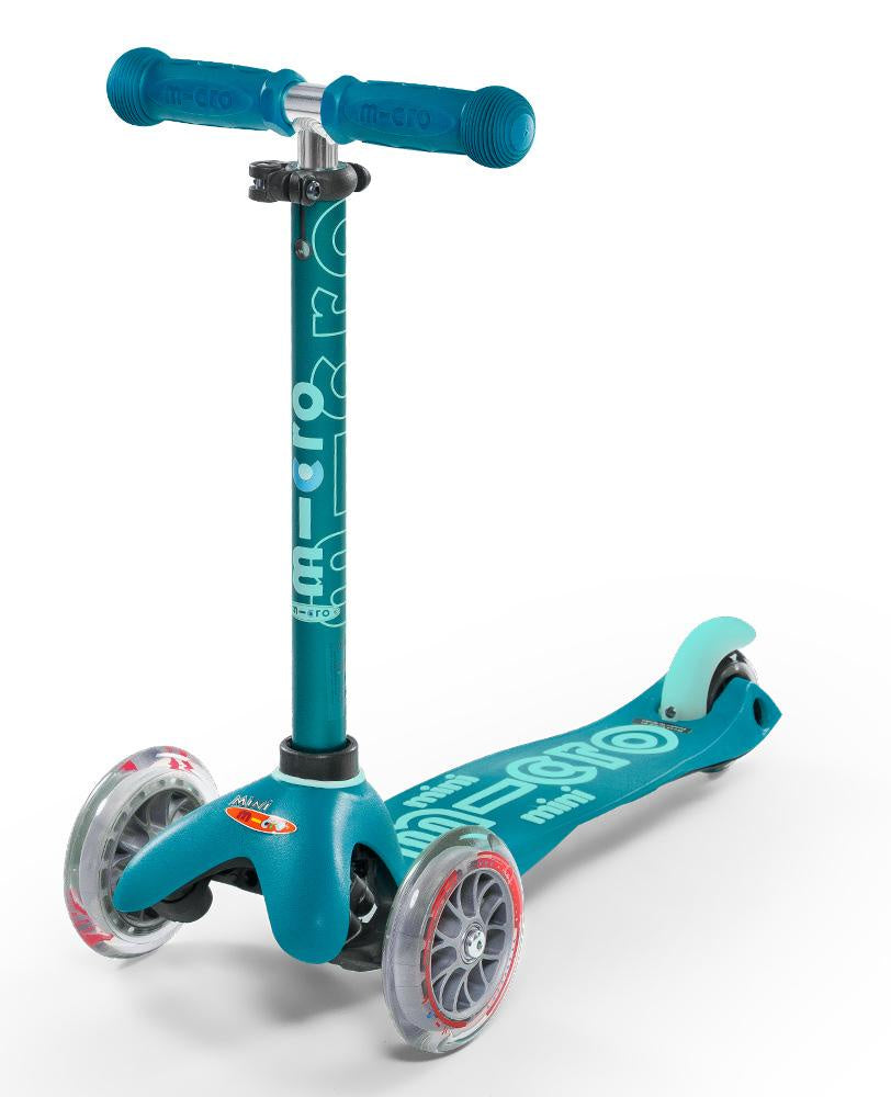 Mini Micro Deluxe Scooter - Aqua