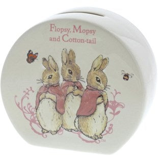 MONEYBOX FLOPSY MOPSY & COTTONTAIL