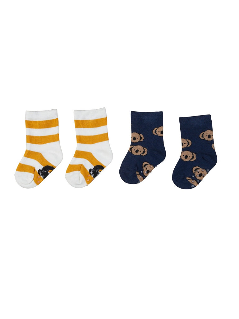 STRIPE / KOALA 2PK SOCKS