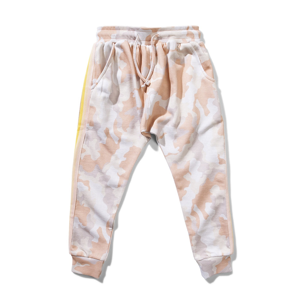 ENCHANTED PASTEL CAMO TRACK PANT